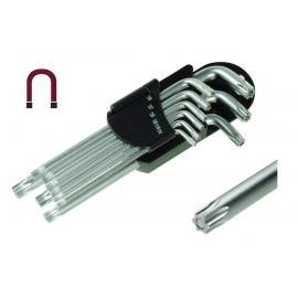 PROTECO Klucze imbusowe magnetyczne TORX - zestaw 9 szt (42.09-2003)