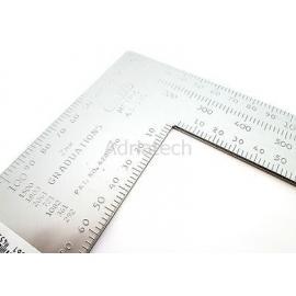 STANLEY Kątownik stalowy z podziałką  (45-530)