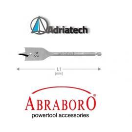 ABRABORO Wiertło piórkowe z trzpieniem E 6,3  10mm (AB80610000)