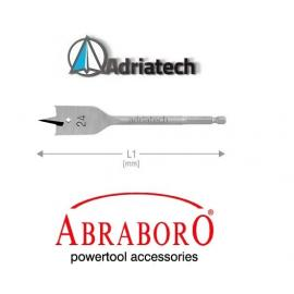 ABRABORO Wiertło piórkowe z trzpieniem E 6,3  22mm (AB80622000)
