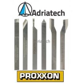 PROXXON Zestaw noży tokarskich 6 sztuk (24524)