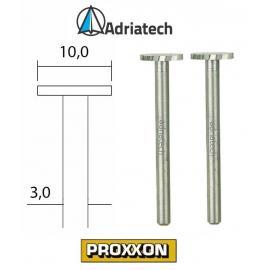 PROXXON Frezy ze stali wolframowo-wanadowej 2 szt. 10 mm (28727)