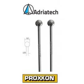 PROXXON Frezy ze stali wolframowo-wanadowej 2 szt. 6 mm (28725)