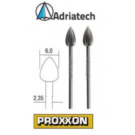PROXXON Frezy ze stali wolframowo-wanadowej 2 szt. 6 mm (28724)
