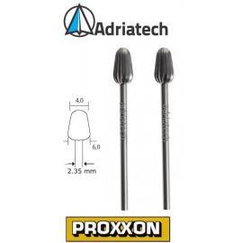 PROXXON Frezy ze stali wolframowo-wanadowej 2 szt. 4 - 6 mm (28723)
