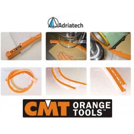 CMT Szablony do krzywizn i łuków (TMP-1000)