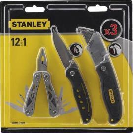 STANLEY Narzędzie wielofunkcyjne Multi-tool + 2 noże (STHT-71029)