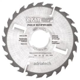 CMT Piła do wielopił o cienkim zębie 250mm (280.020.10W)