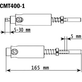 CMT Uchwyt wiercący 5-30 mm do użytku z wiertłami serii 306 (CMT400-1)