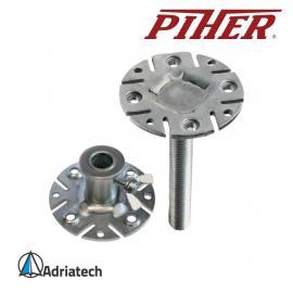 PIHER Zestaw stóp mocowanych na stałe do multi-podpory (P34039)