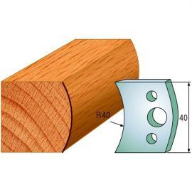 CMT Noże profilowe 40mm 2szt (690.008)