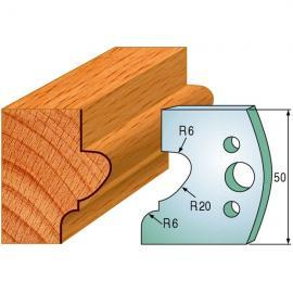CMT Noże profilowe 50mm 2szt (690.505)