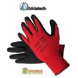 Rękawice LATEC8 czerwono-czarne, rozmiar 8 (BRLATEC8)
