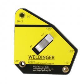 Weldinger kątownik magnetyczny 111x105x28mm (3482)