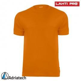 LAHTI Koszulka T-shirt pomarańczowa L40217