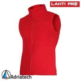 LAHTI Kamizelka polarowa damska czerwona L41312