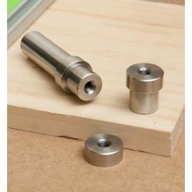 Małe imaki ze stali nierdzewnej 20 mm 05G4950