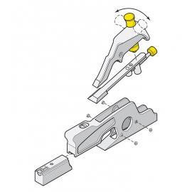 VERITAS - strug kątnik nóż A2 05P4201