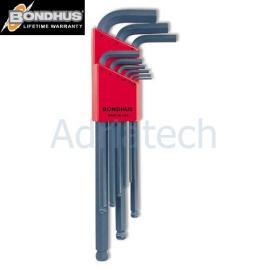Bondhus Zestaw kluczy imbusowych z kulką 10999
