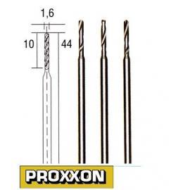 PROXXON Wiertła precyzyjne HSS 3 szt. 1,6mm (28858)