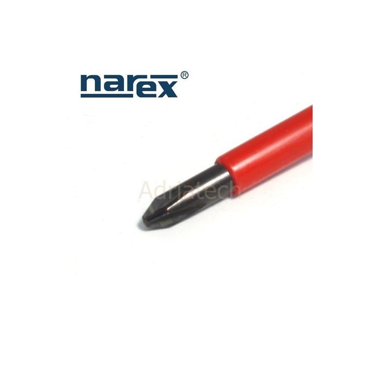 NAREX Wkrętak krzyżowy izolowany Phillips PH 2 serii S LINE ELEKTRO PROFI (833102) #2