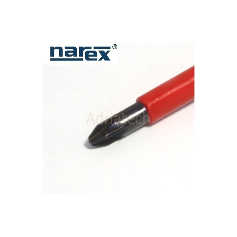 NAREX Wkrętak krzyżowy izolowany Pozidriv PZ 2 serii S LINE ELEKTRO PROFI (833202) #2