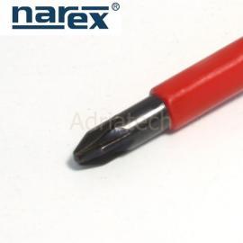 NAREX Wkrętak krzyżowy izolowany Pozidriv PZ 2 serii E LINE ELEKTRO PROFI (804002)
