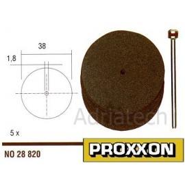 PROXXON Korundowe tarcze tnące 5 szt. 38 mm (28820)