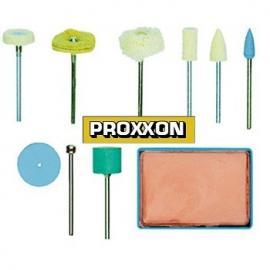 PROXXON Zestaw do polerowania 10 części  (28285)