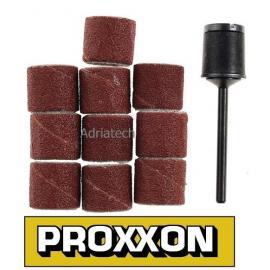 PROXXON Korundowe taśmy do szlifowania oraz trzpień (28978)