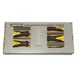 PROTECO Pilniki do metalu - zestaw 5 szt (10.14-9902-2)