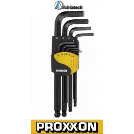 Proxxon zestaw kluczy imbusowych do śrub sześciokątnych (23946)