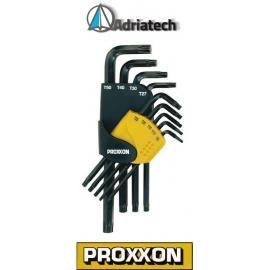 Proxxon zestaw kluczy imbusowych do śrub TX (23944)
