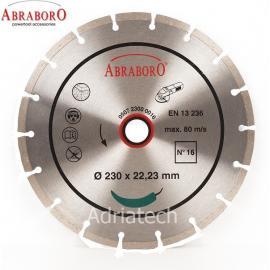 ABRABORO Tarcza diamentowa N16 uniwersalna 125 mm (12500016)