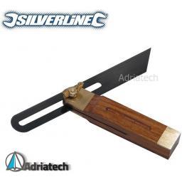 SILVERLINE Kątownik drewniany nastawny 190 mm CB71