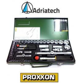 """PROXXON Zestaw 56 - częściowy z grzechotkami 1/2"""" i 1/4"""" (23040)"""
