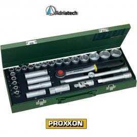 PROXXON Zestaw kluczy dla mechaników, 8 - 34mm, 29 - części (23000)