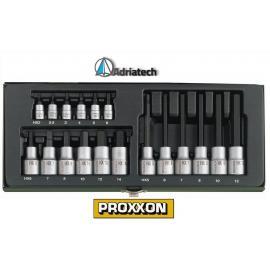 PROXXON Zestaw specjalistyczny do śrub imbusowych, 18-części (23100)