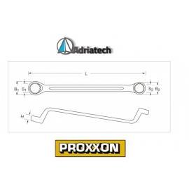 PROXXON klucz oczkowo-gięty  Slim-Line 8 x 9mm (23872)