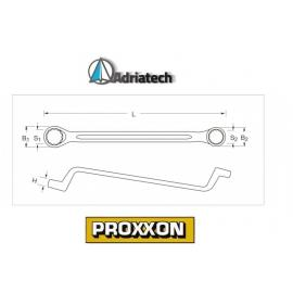 PROXXON klucz oczkowo-gięty  Slim-Line 18 x 19mm (23886)