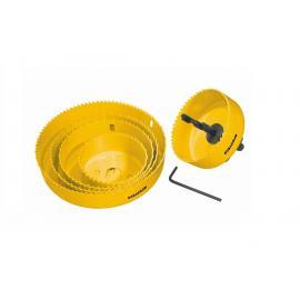 PROTECO Otwornice 64÷127mm do drewna i gipskartonu - zestaw 5szt (42.02-10176)